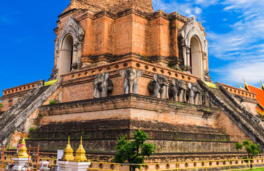 Wat Jedi Luang - Chiang Mai